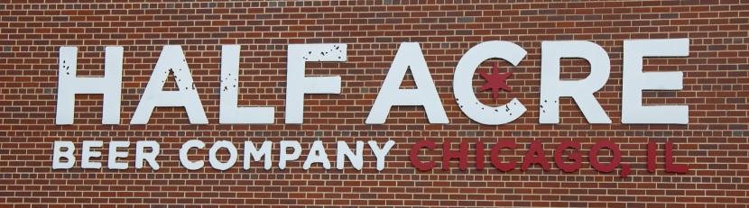 Half Acre Building Logo close up